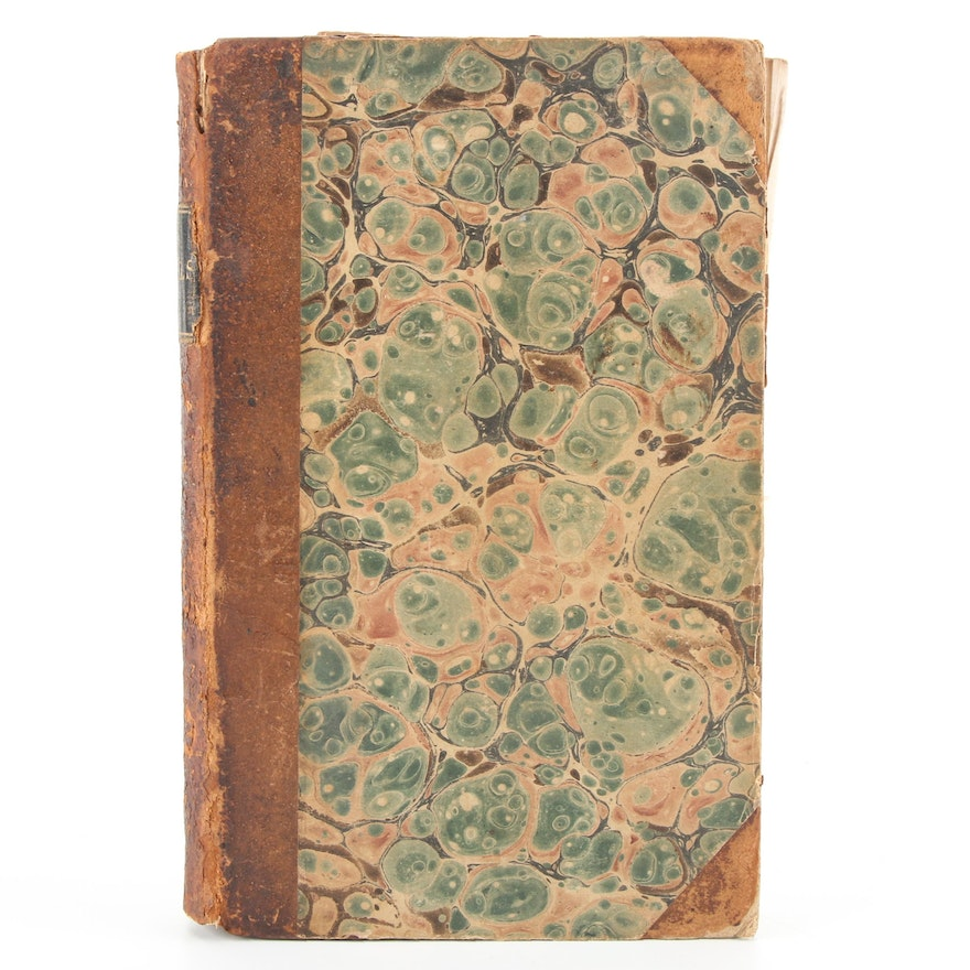 """Early American Edition """"A Christmas Carol"""" with Other Stories by Dickens, 1844"""