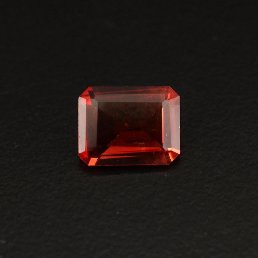 Loose 1.68 CT Rectangular Labradorite
