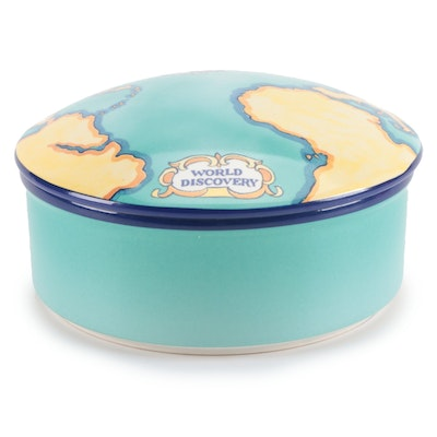 Tiffany & Co. for Tauck World Discovery Ceramic Lidded Box