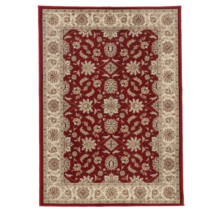 5'5 x 7'7 Machine Made Persian Style Area Rug