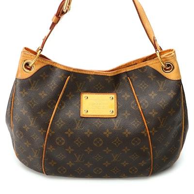 Louis Vuitton Galleria Shoulder Bag in Monogram Vernis