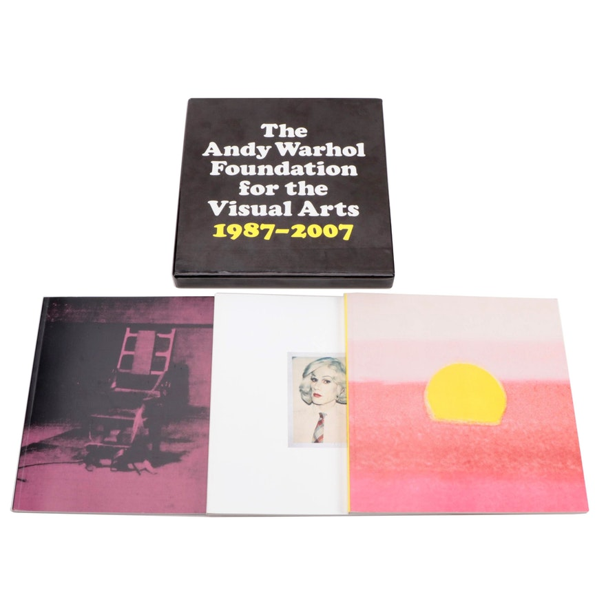 """""""The Andy Warhol Foundations for the Visual Arts"""" Three-Volume Box Set, 2007"""