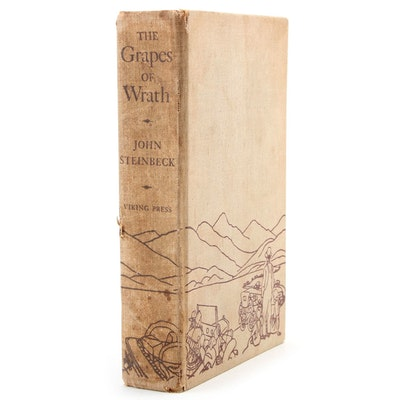 """First Trade Edition """"The Grapes of Wrath"""" by John Steinbeck, 1939"""