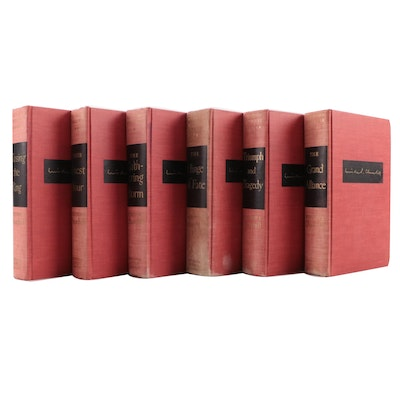 """First and Early Printings """"The Second World War"""" Set by Winston S. Churchill"""