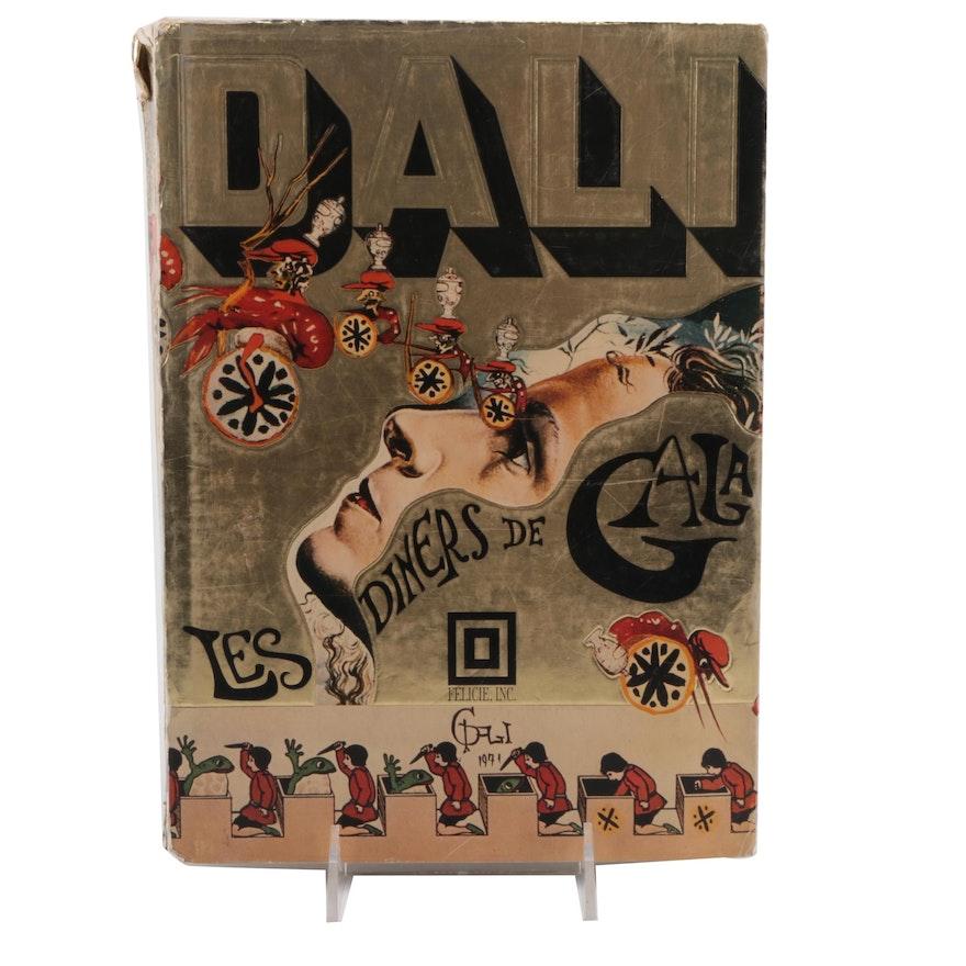 "First English Edition ""Les Dîners de Gala"" by Salvador Dalí, 1973"