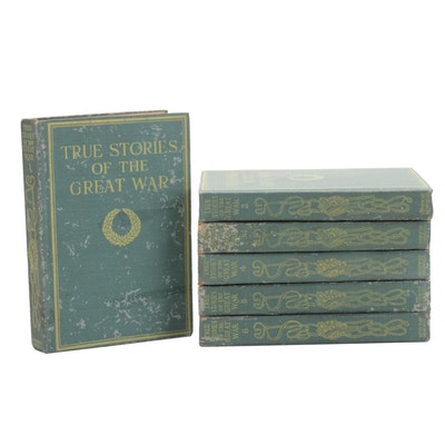 """True Stories of the Great War"" Complete Six-Volume Set, 1918"