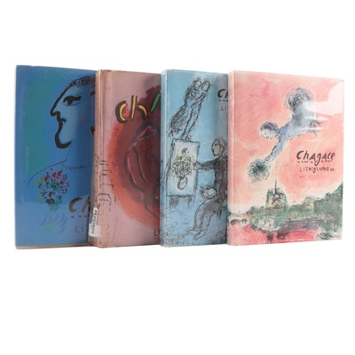 """""""Chagall Lithographs"""" Art Book Collection, Mid to Late 20th Century"""