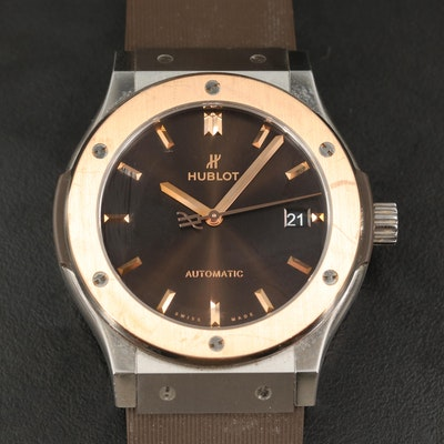 Hublot Classic Fusion Titanium King Gold Special Edition Wristwatch