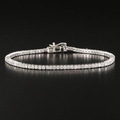 14K 2.75 CTW Diamond Line Bracelet