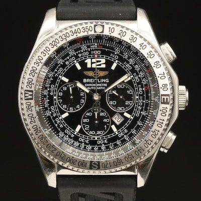 Breitling B-2 Chronograph Stainless Steel Automatic Wristwatch