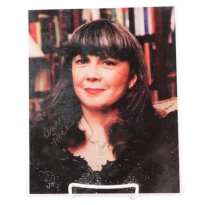 Anne Rice American Novelist Signed Photo Print
