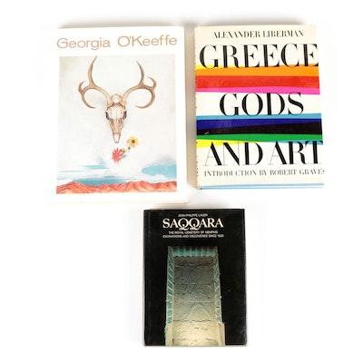 """Georgia O'Keeffe"" and More Art and History Books"