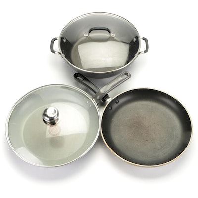 Calphalon, T-Fal and Other Braising Pans and Skillets