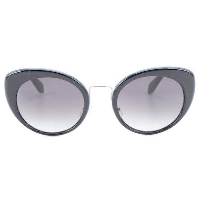 Miu Miu SMU06T Cat Eye Sunglasses with Case and Box