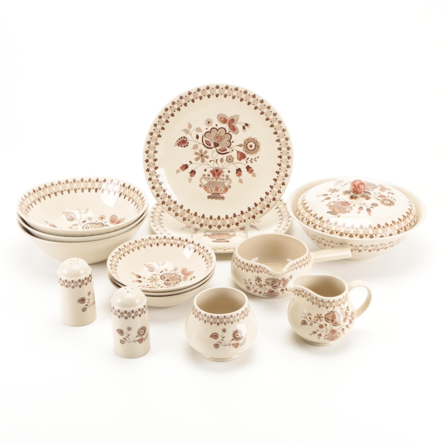 """Johnson Brothers """"Jamestown"""" Stoneware Dishes and Table Accessories"""