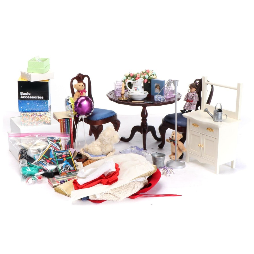 American Girl Doll Furniture, Clothing, Accessories and Books