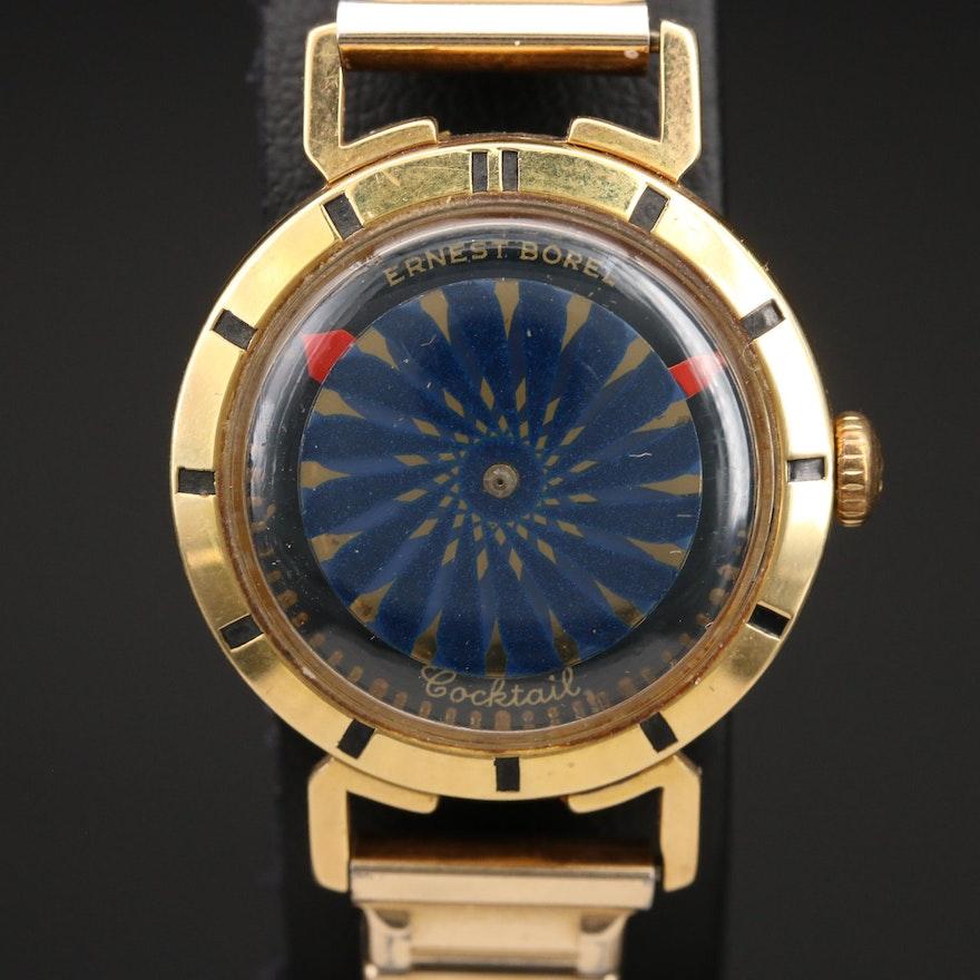 Ernest Borel Cocktail Kaleidoscope Wristwatch