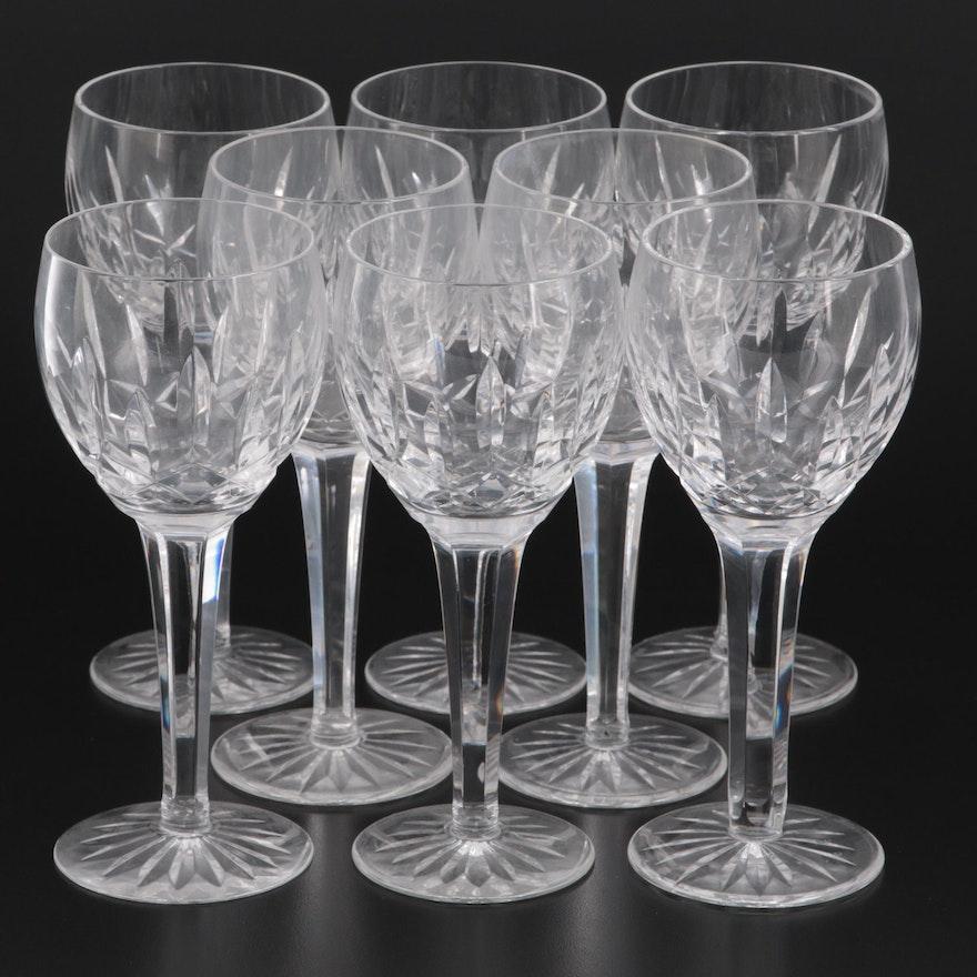 """Waterford Crystal """"Kildare"""" Hock Wine Glasses"""