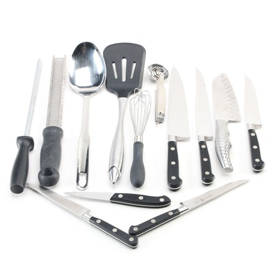 J.A. Henckels Stainless Steel Cutlery and Other Utensils