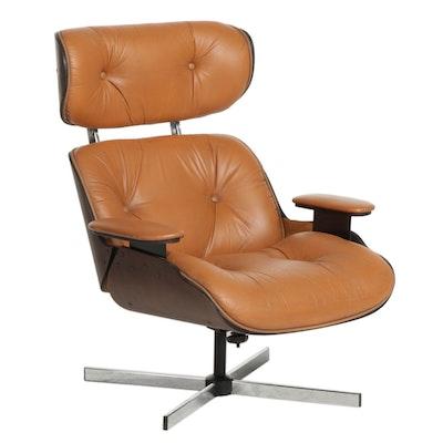 Plycraft Mid Century Modern Lounge Chair, Late 20th Century