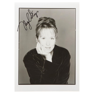 Meryl Streep Academy Award Winning Actress Signed Photo Print