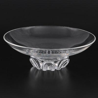 """Steuben Art Glass """"Coronet"""" Centerpiece Bowl"""
