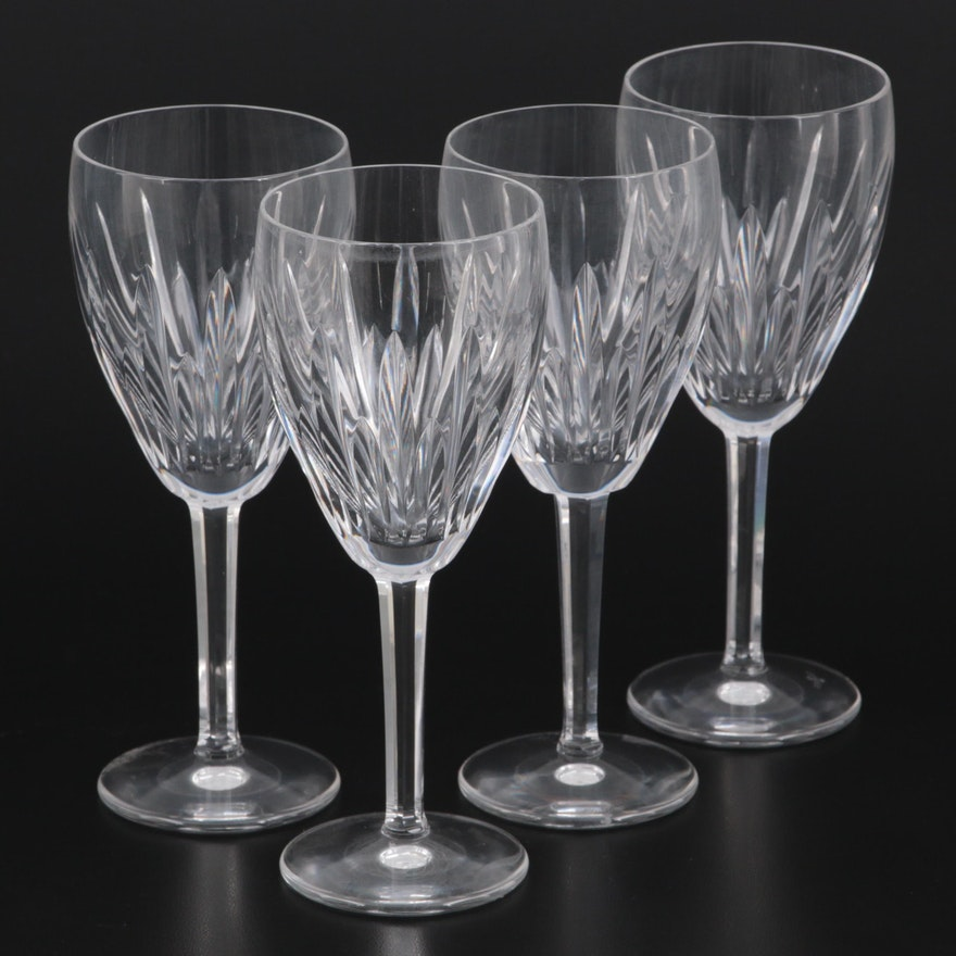 """Waterford Crystal """"Carina"""" Claret Wine Glasses"""