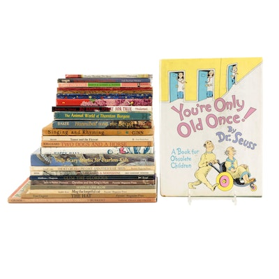 """First Edition """"You're Only Old Once!"""" by Dr. Seuss and More Children's Books"""