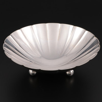 Tiffany & Co. Sterling Silver Fluted Bonbon Bowl, Mid-20th Century