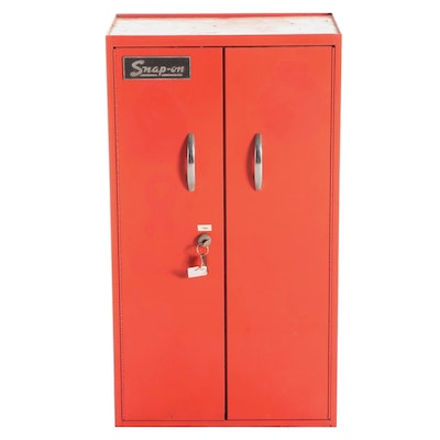 Snap-On Metal Wall Mount Two-Door Cabinet, Mid to Late 20th Century