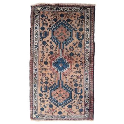 1'9 x 3'1 Hand-Knotted Caucasian Akstafa Accent Rug