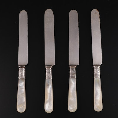 Landers, Frary & Clark and Other Mother-of-Pearl Handled Knives, 20th Century