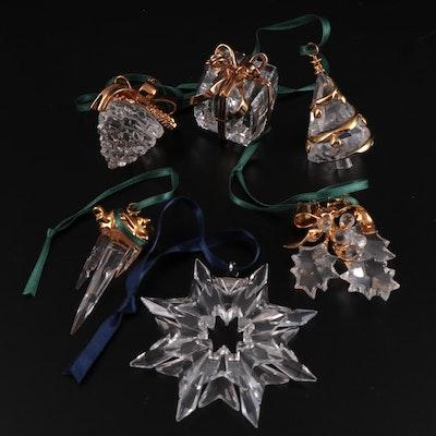 "Swarovski Crystal ""Christmas Memories"" and Other Ornaments"