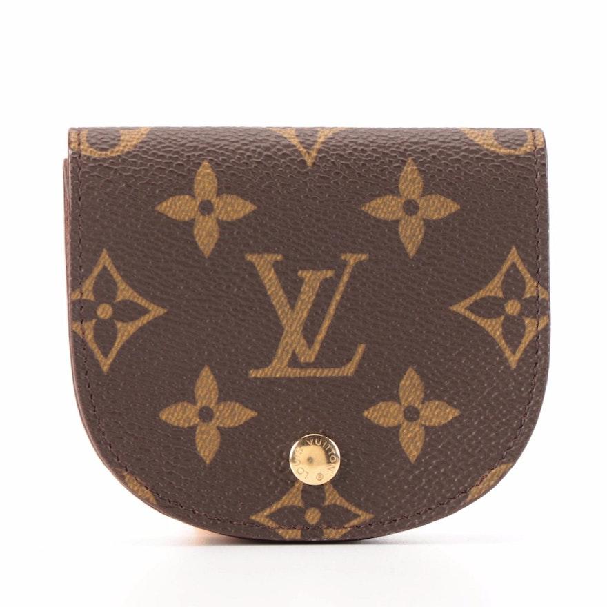 Louis Vuitton Porte-Monnaie Gousset in Monogram Canvas
