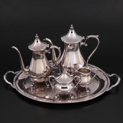 The Sheffield Silver Co. Silver Plate Tea and Coffee Service
