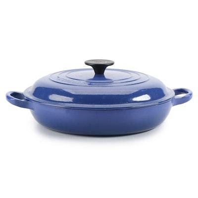 Le Creuset 3.5 Quart Enameled Cast Iron Braiser Pan