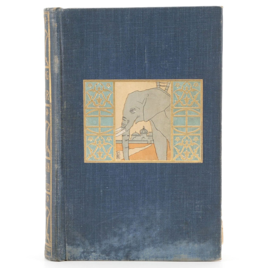 """Early Printing """"Following the Equator"""" by Mark Twain, 1898"""