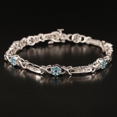 14K 1.56 CTW Diamond Bracelet