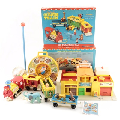 """Fisher-Price Toys Including """"Play Family Village"""" and """"Circus Train"""""""
