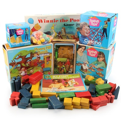 Mattel, Parker Brothers, Romper Room Games and Toys