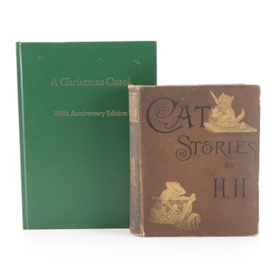 """Gerald Charles Dickens Signed """"A Christmas Carol"""" 150th Anniversary Edition"""