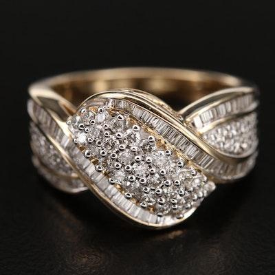 10K 1.11 CTW Diamond Ring
