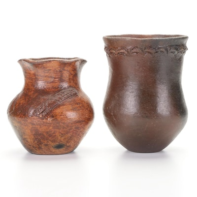 South American Style Earthenware Vessels