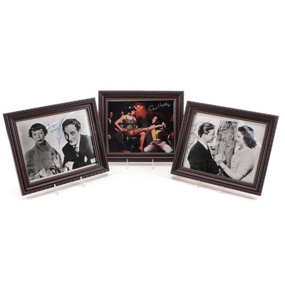 Mickey Rooney, Gene Kelly, Sid Caesar, Cyd Charisse, and Other Signed Prints