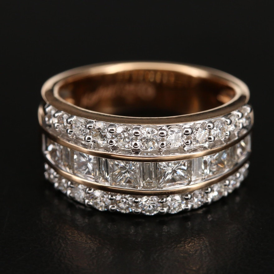 Kallati 18K 1.88 CTW Diamond Ring