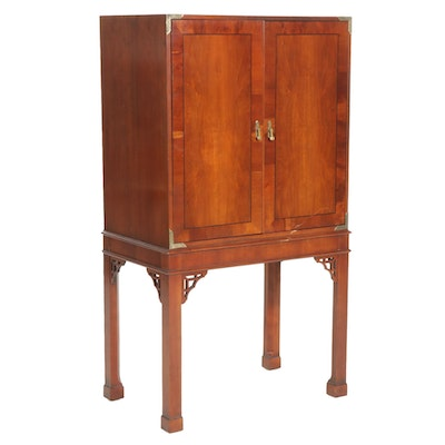 George II Style Television Cabinet, Late 20th Century