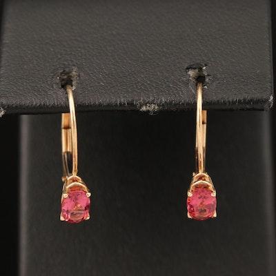 14K Tourmaline Earrings