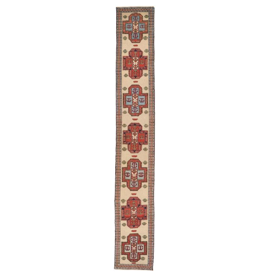 2'5 x 16'7 Hand-Knotted Persian Serab Carpet Runner