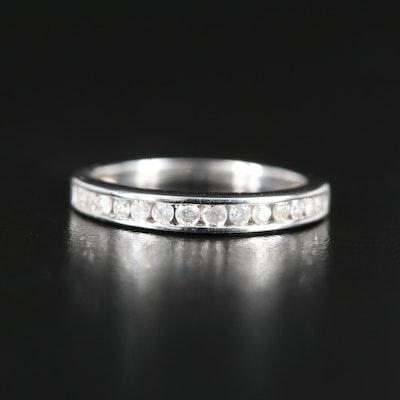 10K 0.23 CTW Diamond Channel Ring