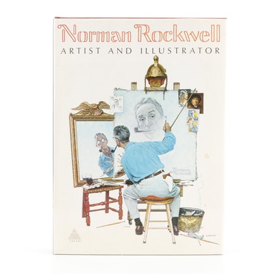 """""""Norman Rockwell: Artist and Illustrator"""" by Thomas S. Beuchner, 1970"""